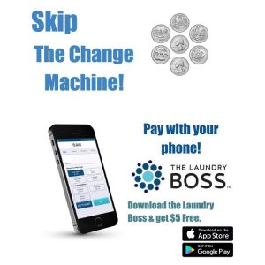 Suncoast Laundromat uses The Laundry Boss Mobile App