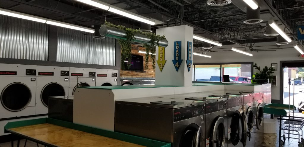 Busch Laundromat Interior